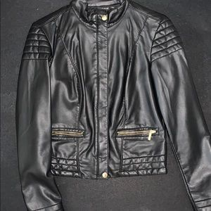 Leather blazer/jacket great condition!